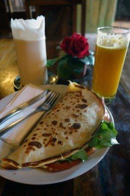 Camino de Santiago Food Vegetable Sandwich