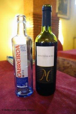 Camino de Santiago Food Water Wine