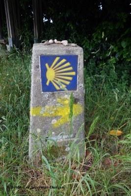 Camino de Santiago Stone Markers