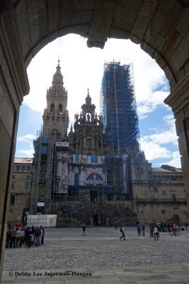 Camino de Santiago Cathedral Santiago de Compostela