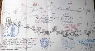 Camino de Santiago Credencial