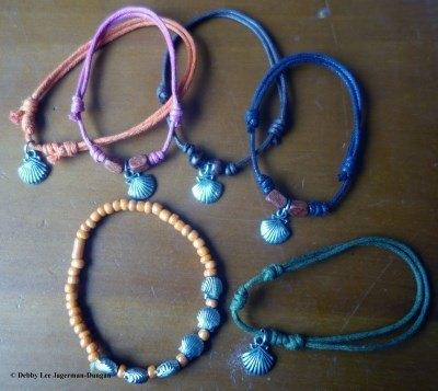 Camino de Santiago Souvenirs Scallop Shells Bracelets