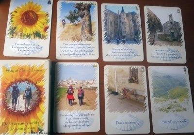 Camino de Santiago Souvenirs Inspirational Cards