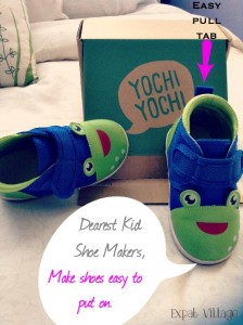 Yochi Yochi Shoes Easy Pull Tab
