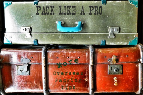 Overseas Packing Tips
