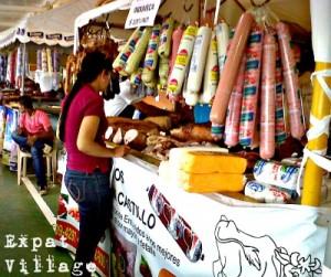 Salami at Market