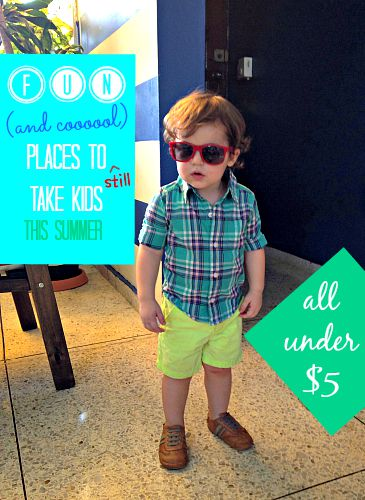Fun Places To Take Kids For Under $5