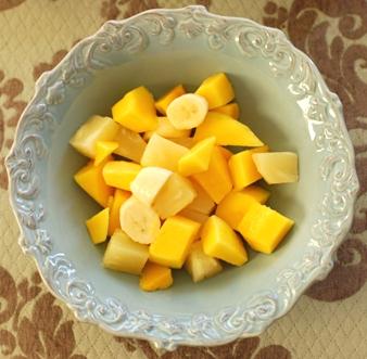 Ananas mango papaya bowle rezept, zutaten, anleitung auf wie kocht man
