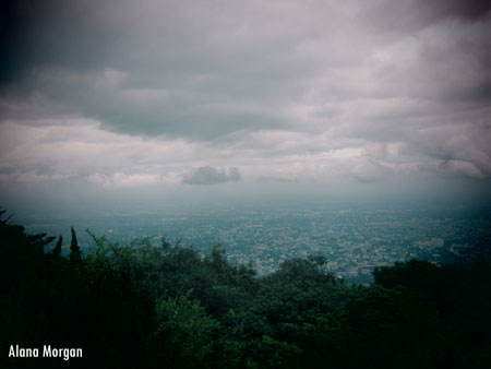 Doi Suthep Rain Clouds