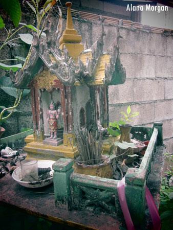 Decaying Spirit House
