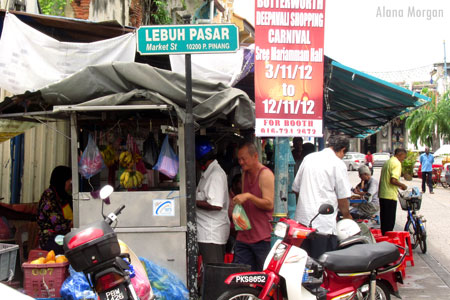 Food Shop in Penang