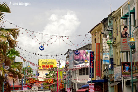 Streets of Little India, Penang
