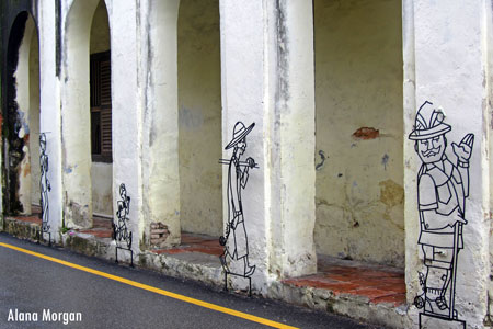 Penang Street Wire Art