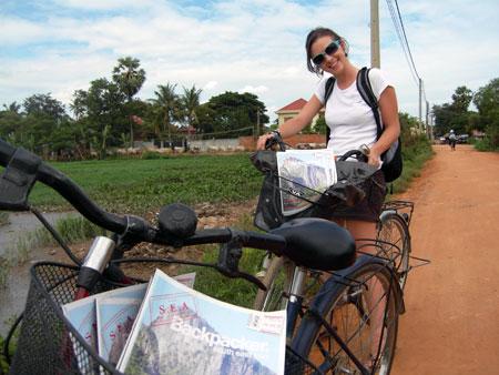 SEA Backpacker Magazine in Cambodia