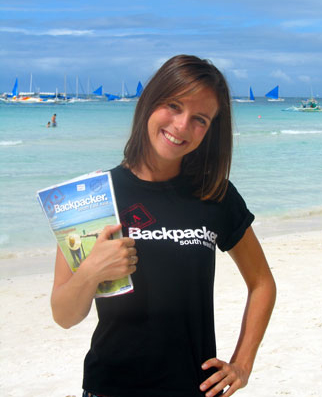 Editor, Nikki Scott, from SEA Backpacker