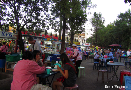 Streets stalls in Chiang Mai