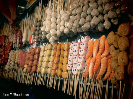 Street Food Snacks Street Food Meat Thailand