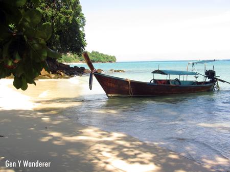 Longtail Boat in Koh Phi Phi, Thailand