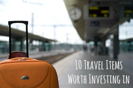 Travel Items Worth Investing In