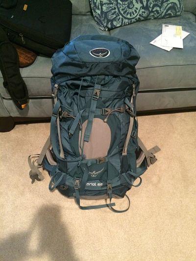 Review Of The Osprey Ariel 65 Backpack Gen Y Wanderer