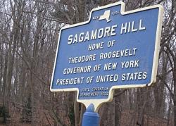 Sagamore Hill Sign