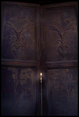 Just West of East:  The Secret, Dark and Mysterious Door of the Haia Sophia