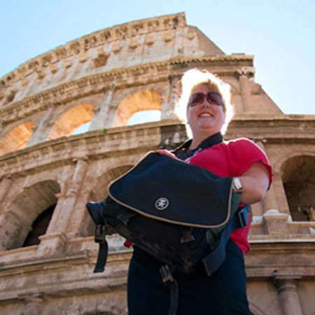 Colosseum, Rome, Crumpler Camera Bag