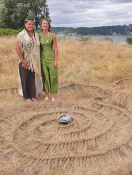 Smoke Farm, Braided Grass, LoFi Arts Festival, Site Specific Art