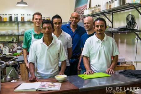 Behind the scenes at Cafe Espressonista in Granada, Nicaragua