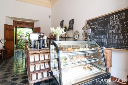 A Classy Cafe in Granada Nicaragua offers locally sourced food and desserts