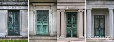 Mausoleum Doors in Oakwoods Cemetery & The Mausoleum Doors of Oakwoods Cemetery Pezcame.Com