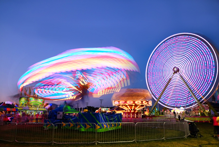 Summer Carnivals are Great for Long Exposure Photography