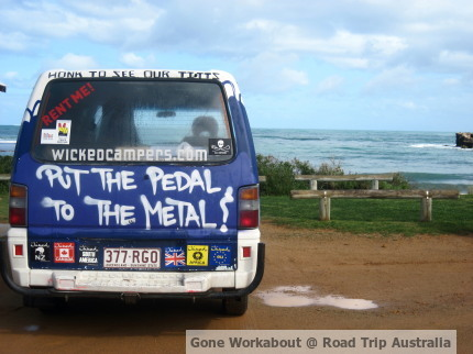 Gone Workabout at Road Trip Australia