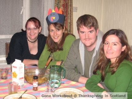 Gone Workabout, Thanksgiving in Scotland