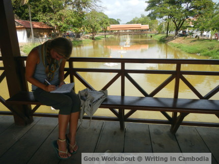 Gone Workabout, Writing in Cambodia