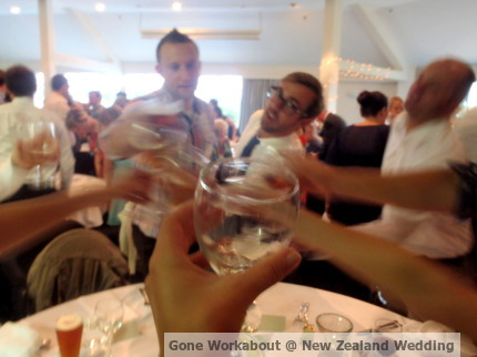 Gone Workabout at New Zealand Wedding
