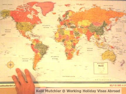 Kelli Mutchler, Working Holiday Visas Abroad