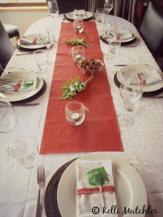 Dinner table holiday traditions
