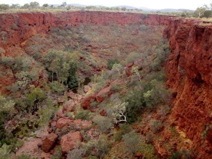 work in Australia Karijini National Park