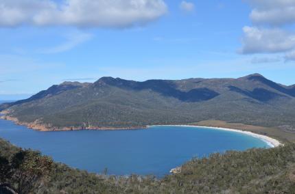 working holiday visa Tasmania Freycinet