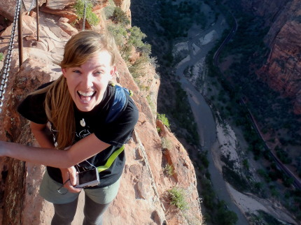 fears Angels Landing Zion National Park