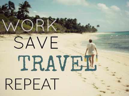 quotes about work and travel