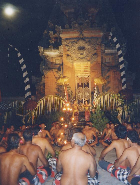 Balinese Fire Dancers