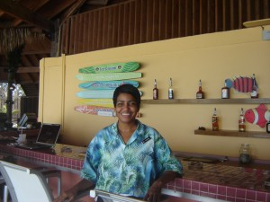 Melushka at Papagayo's Bar and Grill Renaissance Island