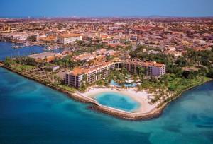 Renaissance Aruba Ocean Suites Aerial View