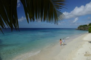 Beach view from Lodge Kura Hulanda
