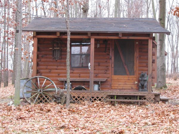 Primitive Cabin Small House Plans Modern