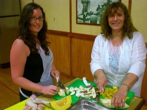 Bajan Cooking preparation with Peter Edey