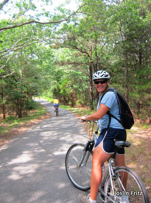 Biking in Cape Cod
