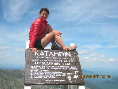 Liz Thomas Long Distance Hiker